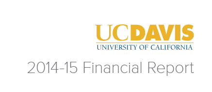 2014-15 financial report logo