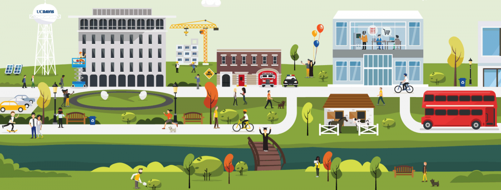 UC Davis FOA campus illustration